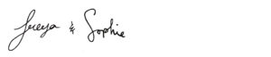 freya sophie signatures for newsletter