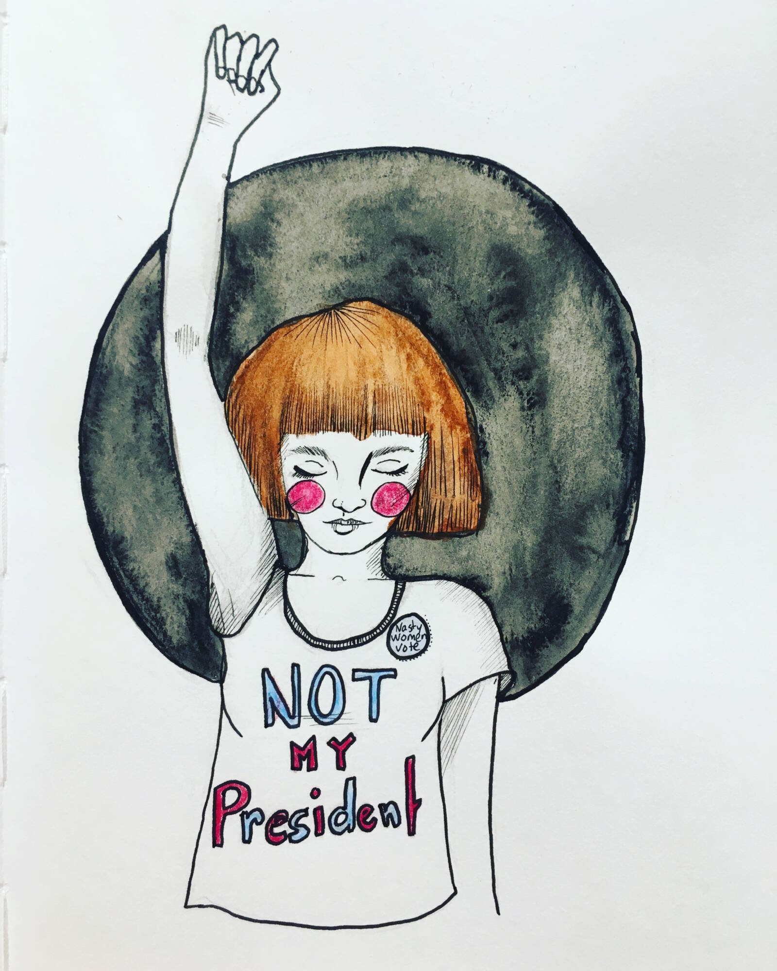 I Do Not Consent To President Trump