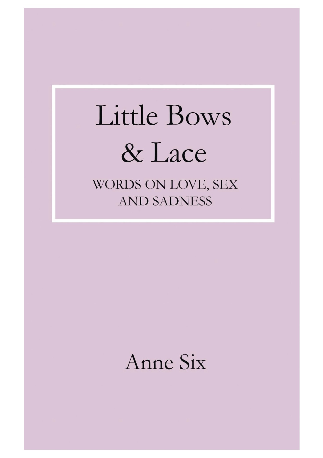 LITTLE BOWS & LACE: Review and Interview