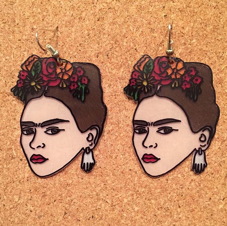 Frida earrings – Ramona Magazine for Girls